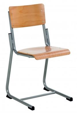 Schoolstoel stz meubelen tilt de keizer - Kantoor houten school ...