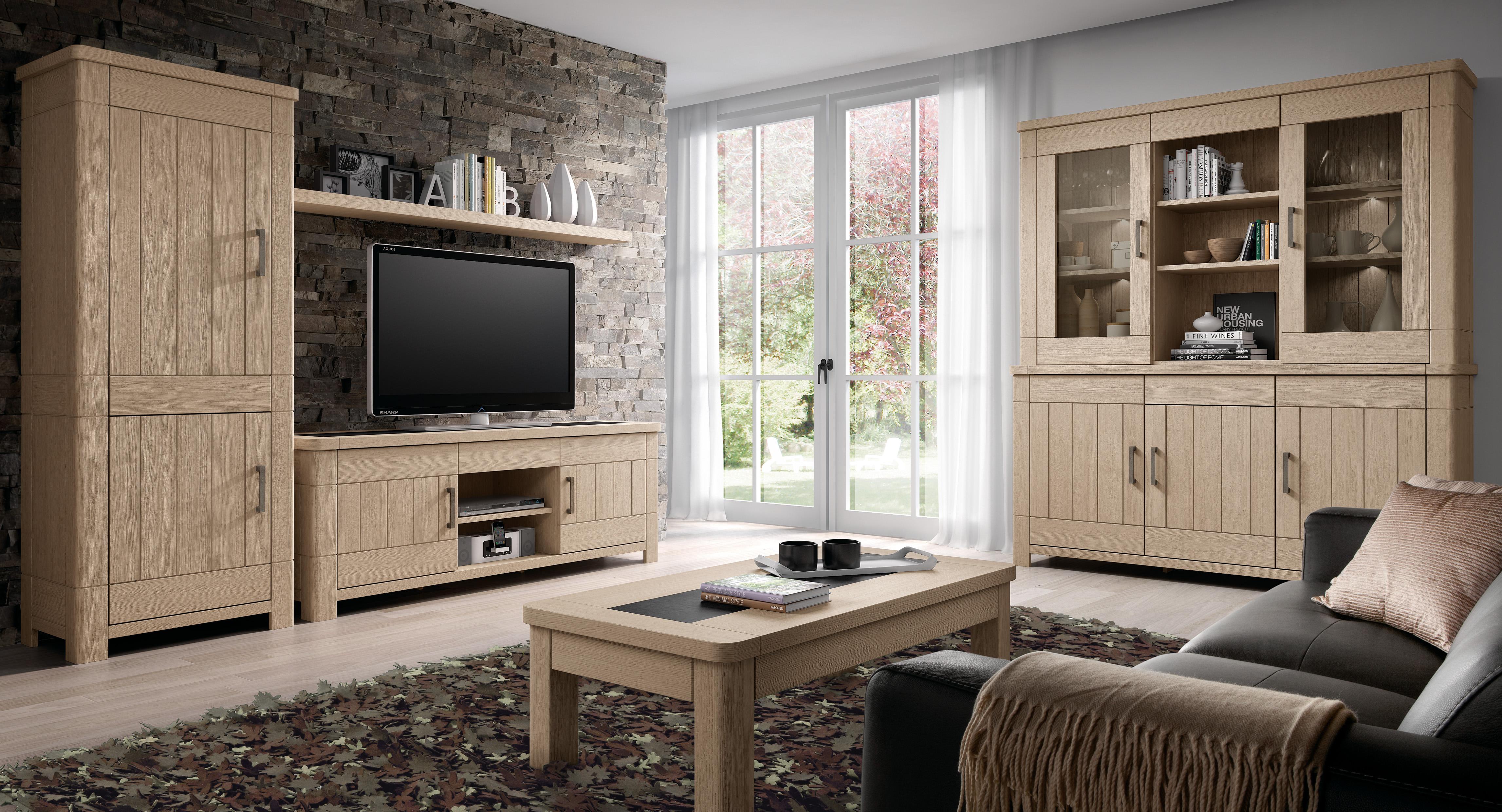 Tv meubel miro meubelen tilt de keizer for Meubels landelijke stijl