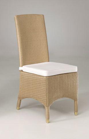 Stoel in loom incl kussen meubelen tilt de keizer for Loom stoelen