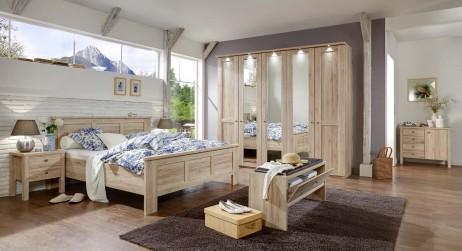 landelijke slaapkamer brescia meubelen tilt de keizer. Black Bedroom Furniture Sets. Home Design Ideas