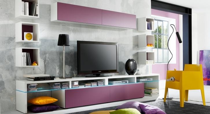 Tvwand Colour art  Meubelen TilT De Keizer ~ Wand Tv Careers