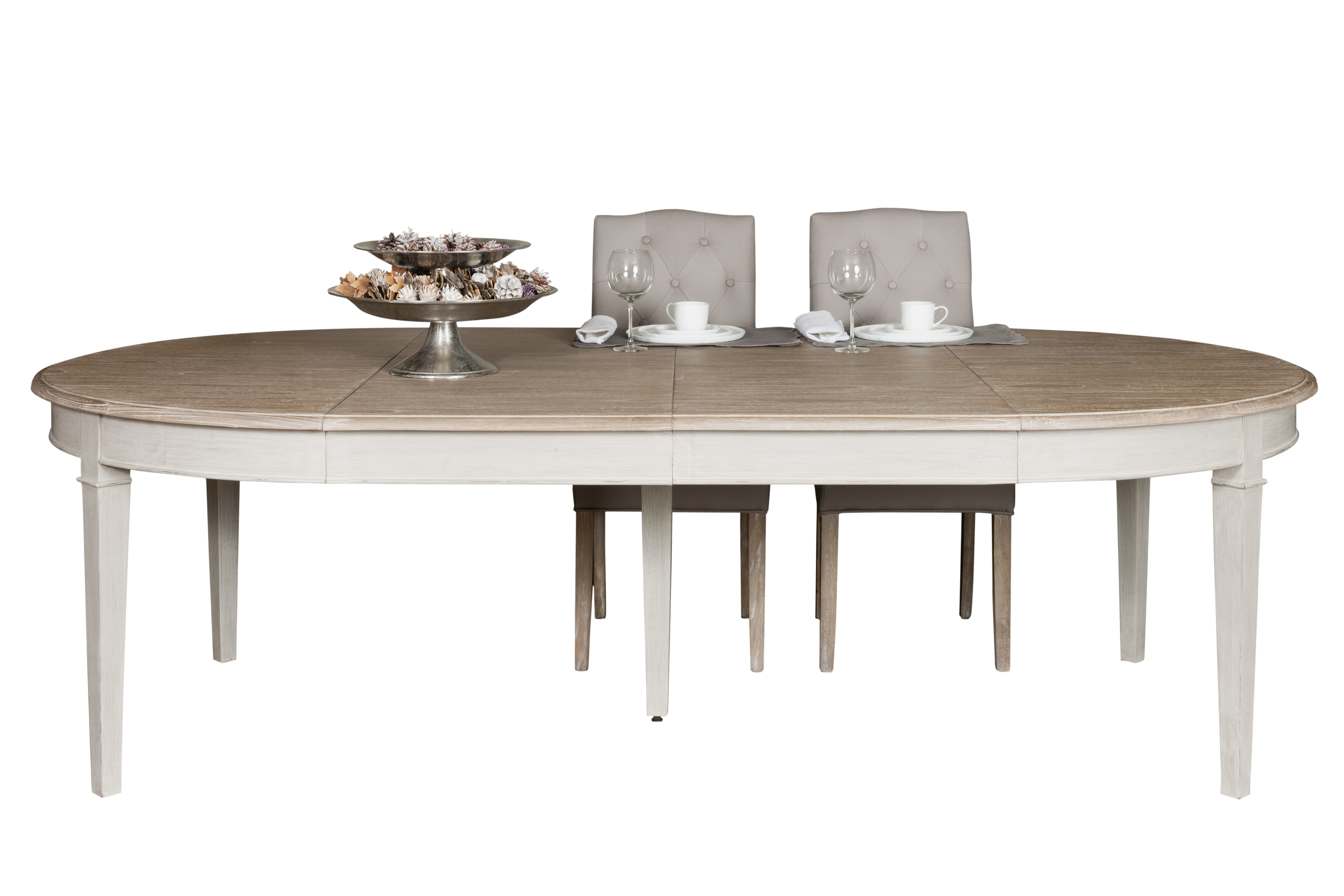 Eettafel uittrekbaar loungeset 2017 for Table a manger ronde extensible