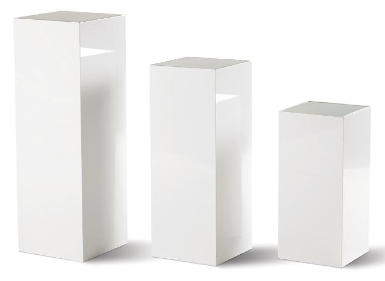 home wonen tafels bijzettafels set van 3 bijzettafeltjes in hoogglans ...