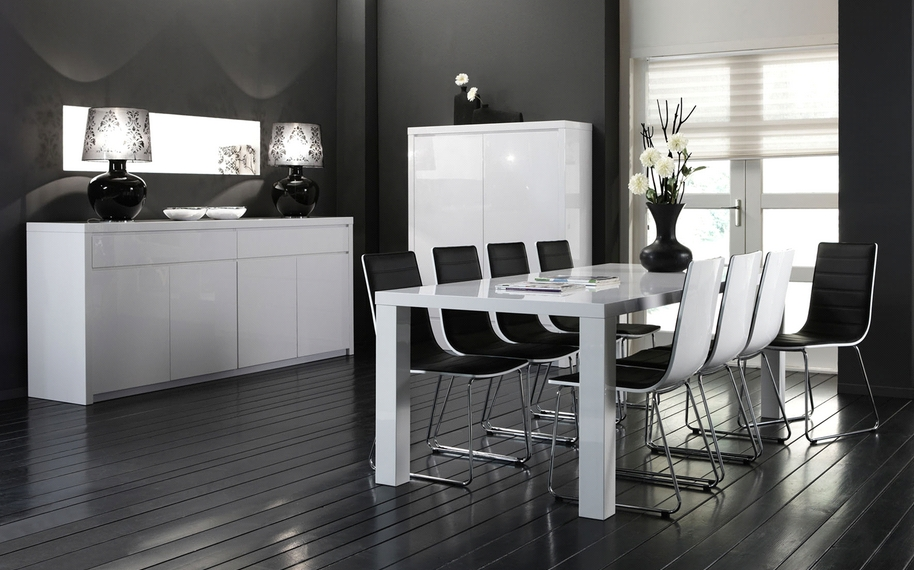 Best Witte Eetkamer Contemporary - Amazing Ideas 2018 - ubbasfamily.com