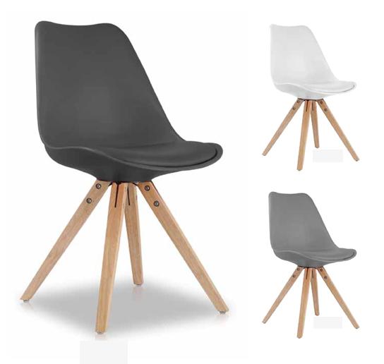 Vintage stoel boy verkijgbaar in 7 kleuren meubelen for Stoel houten poten