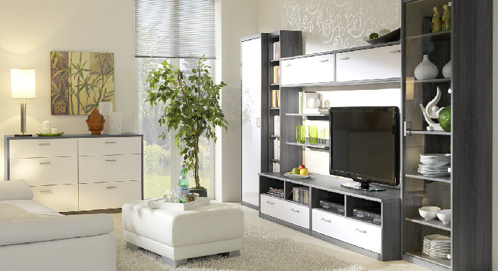 tv meubel 106cm meubelen de keizer tilt. Black Bedroom Furniture Sets. Home Design Ideas