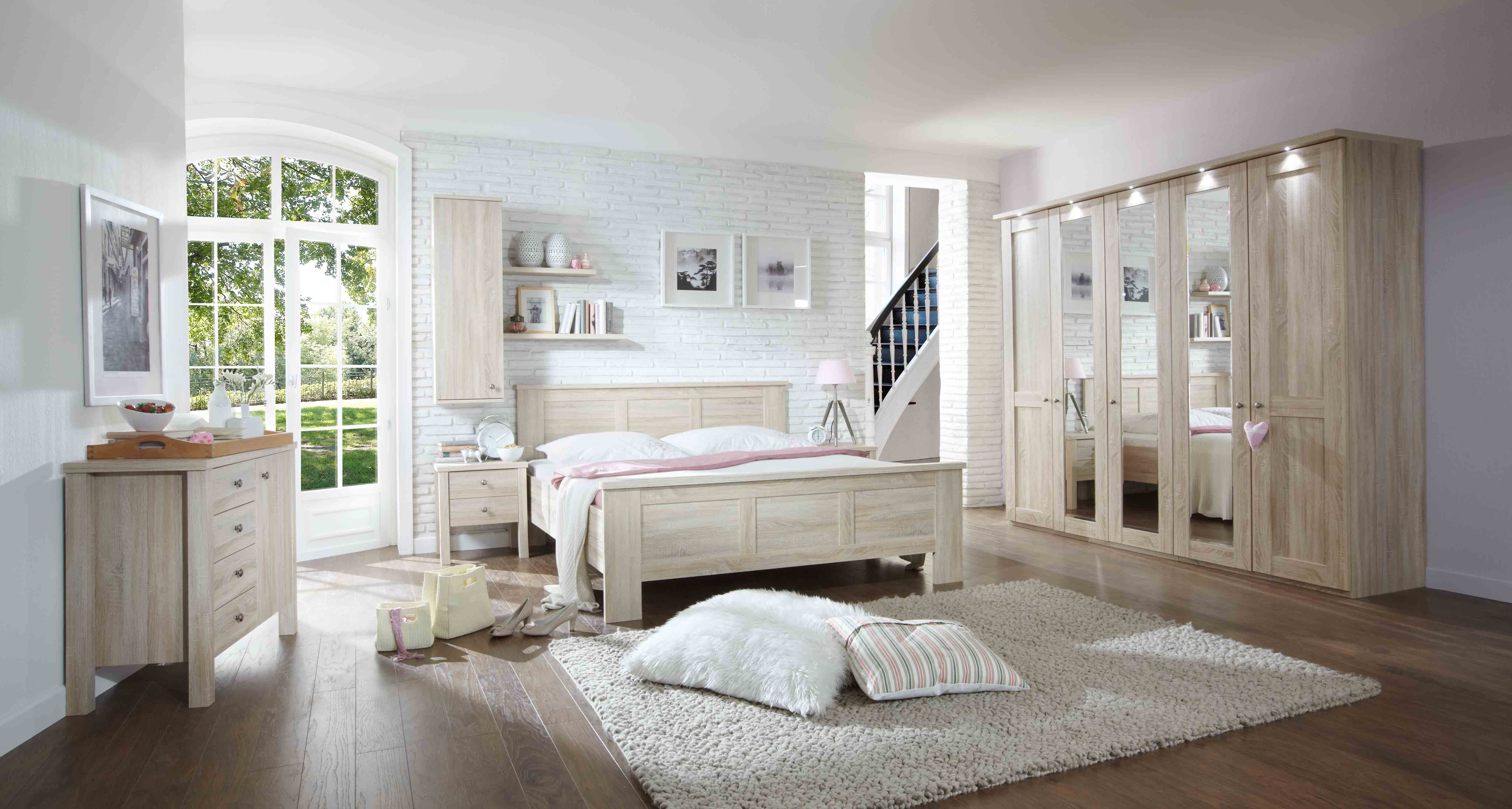 Landelijke slaapkamer Brescia - Meubelen DE KEIZER - TilT