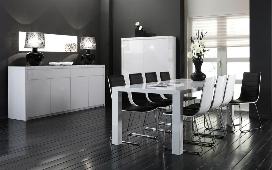 Beautiful Witte Eetkamer Ideas - Moderne huis - clientstat.us