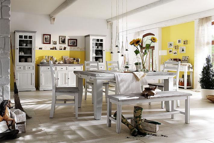 Eetkamer Opus cottage/modern stijl - Meubelen DE KEIZER - TilT