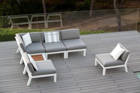 Tuinset dayton jati kebon meubelen de keizer tilt - Eigentijdse patio meubels ...