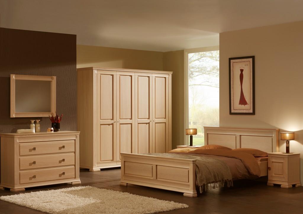Slaapkamer silva karel mintjens meubelen de keizer tilt for Modele de chambre a coucher simple