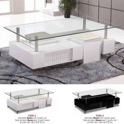 Salontafel shawn 130x70 meubelen de keizer tilt for Bureau 130x70
