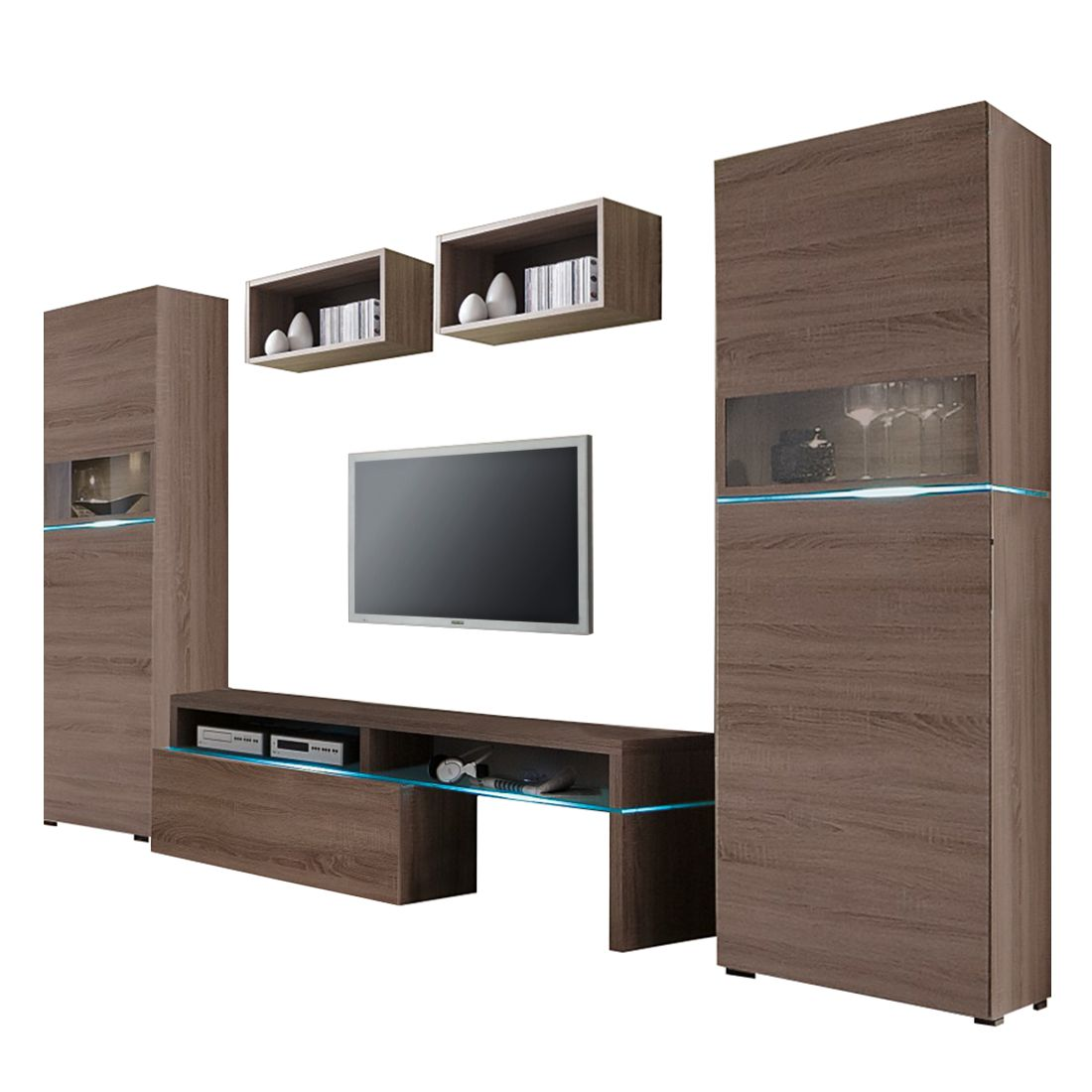 tv wand colour art iii 5delige set meubelen de keizer. Black Bedroom Furniture Sets. Home Design Ideas