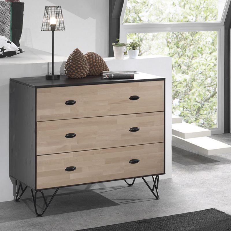 bureau william 150cm meubelen de keizer tilt. Black Bedroom Furniture Sets. Home Design Ideas