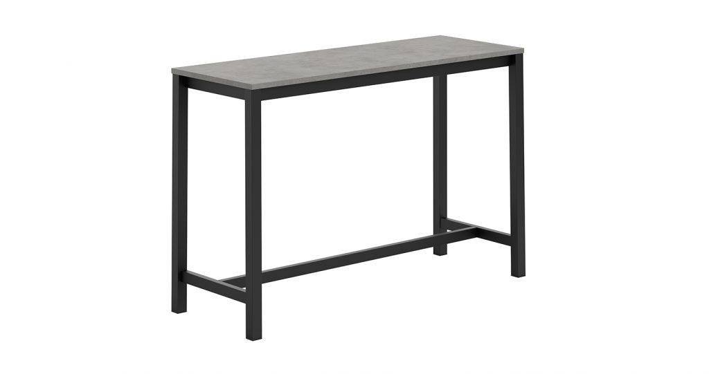 Bartafel vienna hpl 160x60cm ht90 110cm meubelen de for Bureau 160x60
